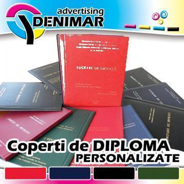 Coperti de diploma, coperti licenta personalizate de la Denimar Advertising Srl