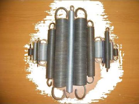 Arcuri elicoidale cilindrice de tractiune extensie intindere
