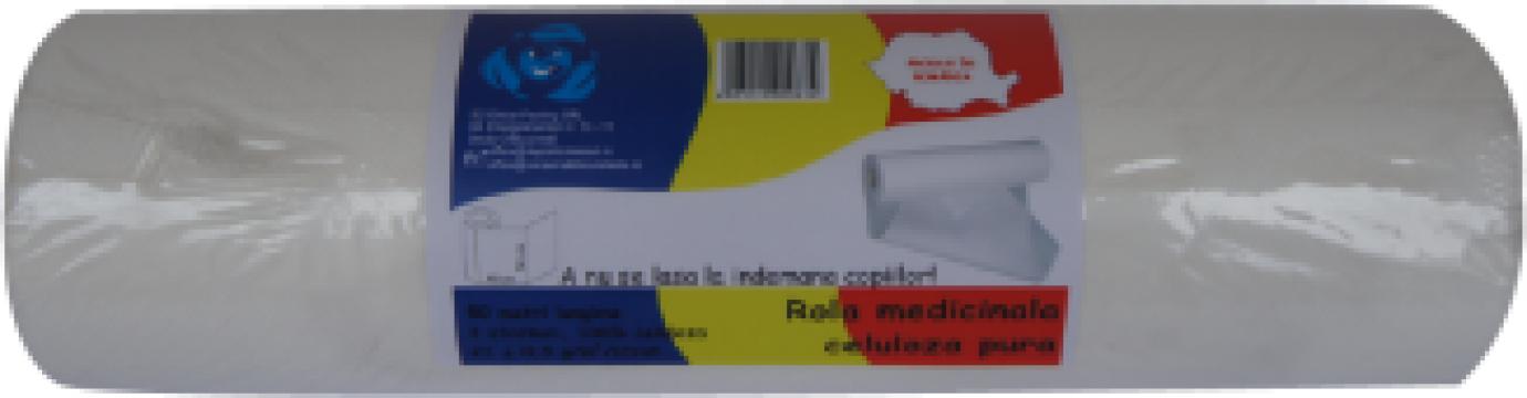 Rola hartie medicala celuloza de la Global Packing Srl