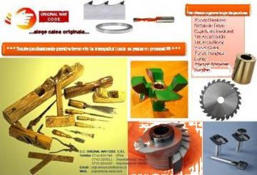 Utilaje pentru prelucrarea lemnului si a metalelor de la Original Way Code Srl.