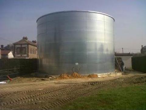 Rezervoare metalice pentru stocare apa de la Electro Avg Srl