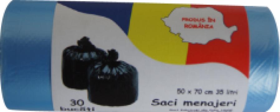 Saci menaj color HDPE 35 litri de la Global Packing Srl