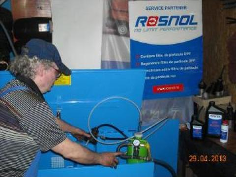 Demontare, curatare filtru particule