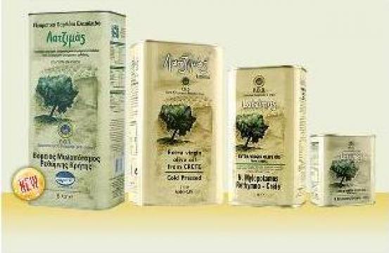 Ulei de masline extravirgin Grecia, 5 litrii