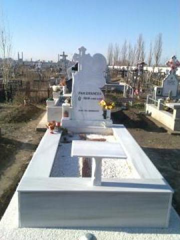 Lucrari funerare executate in cimitirul Sf. Lazar din Galati