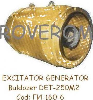 Bloc excitatie (excitator) generator buldozer DET-250M2 de la Roverom Srl