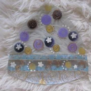 Farfurii decorative de la Ladybug Arts Srl