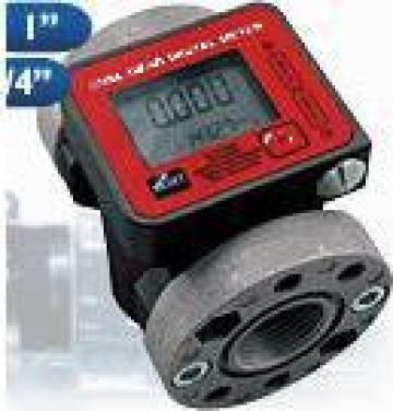 Debitmetru electronic pentru motorina sau ulei K600