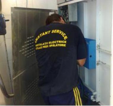 Reparatii masini de spalat rufe industriale, uscatoare