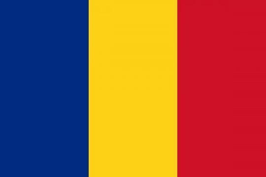 Drapel Romania/UE de la Makaz