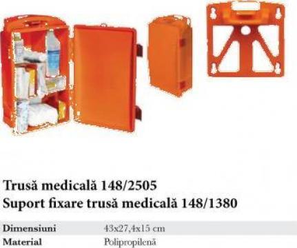 Trusa medicala + suport fixare trusa medicala de la Makaz