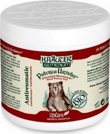 Gel antireumatic Puterea ursului cu plante Bio Krauter de la