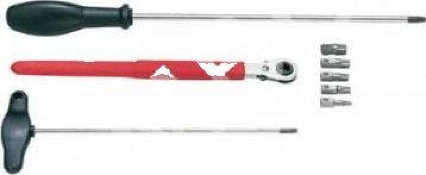 Set pentru schimbarea splintului la usi de la Zimber Tools