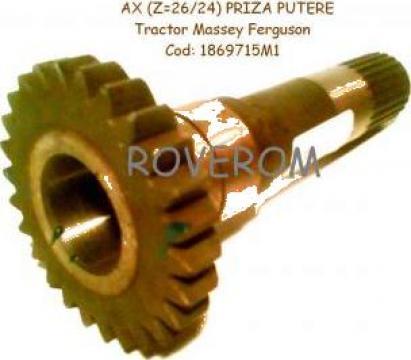 Ax piza putere (Z=26/24) Ursus 4512, 4514, Massey Ferguson de la Roverom Srl