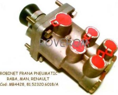Supapa pedala frana MB4428, MB4434, Raba, Man, Renault de la Roverom Srl