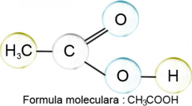 Acid acetic glacial p.a. - 5 litri