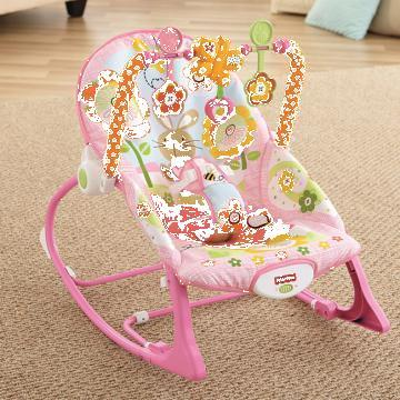 Balansoar 2 in 1 Infant to Todler Pink Fisher Price
