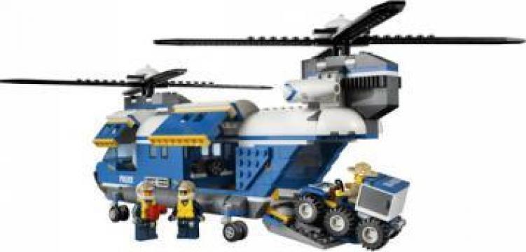 Joc Lego Elicopter pentru greutati Lego City de la