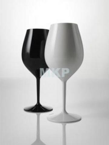 Pahare incasabile reutilizabile pentru vin