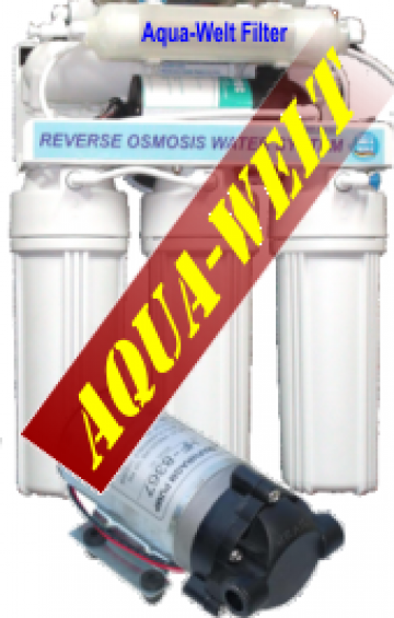Filtru apa purificator osmoza inversa InLine AW400/6 de la Welthaus Srl
