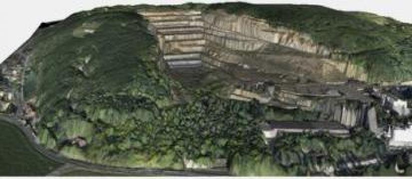 Fotografii aeriene - Modele 3D ale terenului de la Brantax Srl