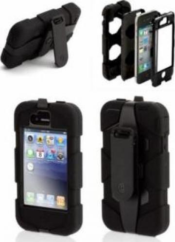 Husa telefon mobil Iphone 4 / 4S Griffin Survivor Armored de la