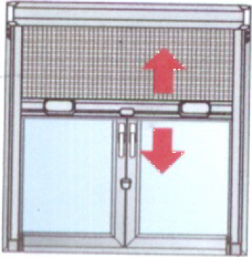 Plasa insecte - rulou de la Atk System Design