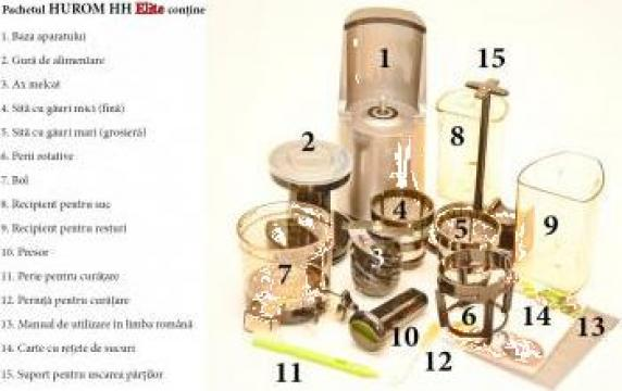 Storcator fructe Hurom Slow Juicer HH Elite - Bucuresti - Floridin Electro Trading Impex Srl, ID ...