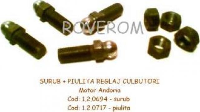 Surub + piulita reglaj culbutori motor Andoria