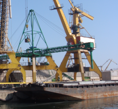 Sistem mobil de incarcare la nava Shiploader de la Rotherm Srl