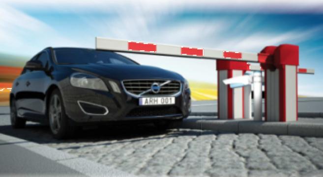 Sistem parcare ALPR de la Parking Experts Srl