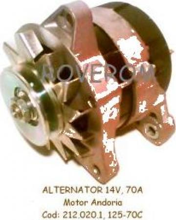 Alternator motor Andoria 4CT90, Aro, Gazelle, Lublin, Uaz