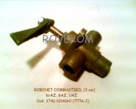 Robinet comutare combustibil rezervor Gaz-63, Uaz