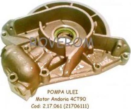 Pompa ulei Andoria 4CT90, GAZelle, Lublin, Aro de la Roverom Srl