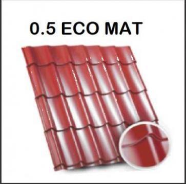 Tigla metalica Bilka Clasic 0.5 Eco mat de la BDM Roof System