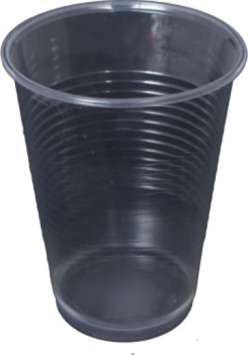 Pahare plastic cristal 400 ml de la Estetik Packing