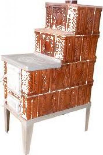 Soba de teracota premontata cu plita mica corbi for Dedeman sobe teracota cu plita