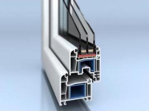 Tamplarie PVC Salamander 5 camere de la Dinamic Blue Steel