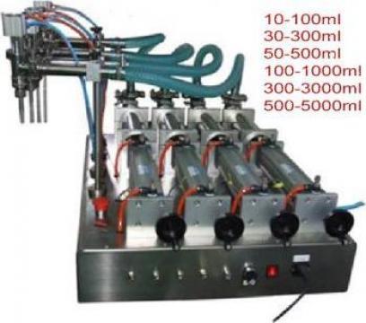 Masina de umplere lichid cu patru capete