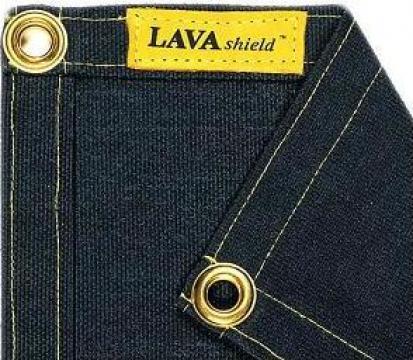 Patura protectie sudura Lavashield Black fiberglass, 538C de la Bendis Welding Equipment Srl