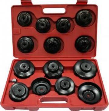 Trusa de chei pentru filtre de ulei 15 buc, ZR-36OFWS15 de la Zimber Tools