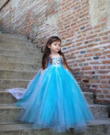 cel mai mic pret destul de dragut calitate bună Cele mai ieftine cea mai buna alegere cel mai recent design rochie elsa  copii - carpathian-endemics.ro
