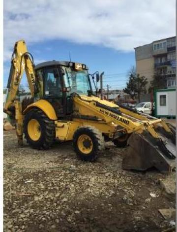 Buldoexcavator New Holland LB110