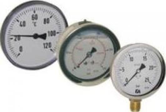Manometre, termometre
