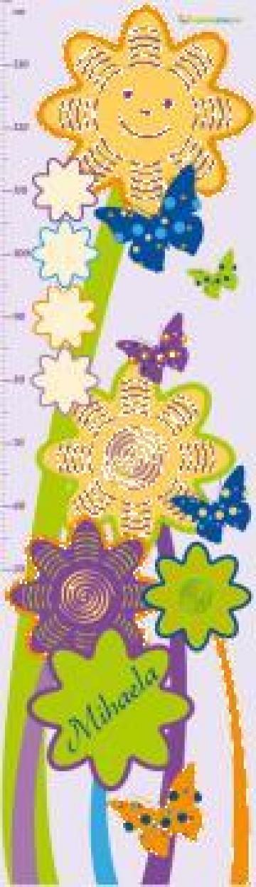 Sticker pentru masurat inaltimea copilului