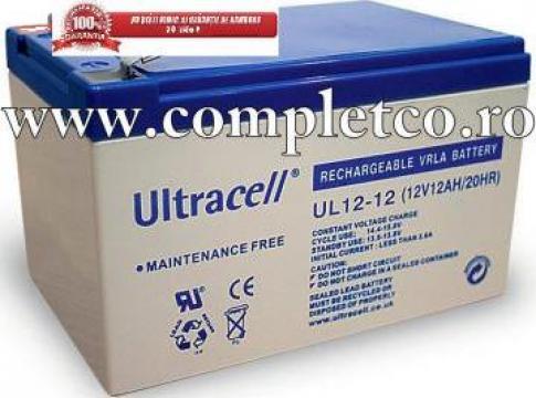 Acumulator etans Ultracell 12V 7Ah/9Ah Gel