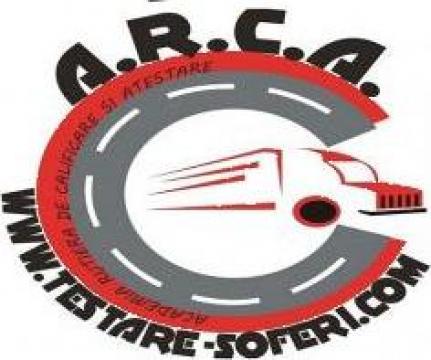 Atestate profesori de legislatie / instructori auto de la A.r.c.a. Testare Soferi