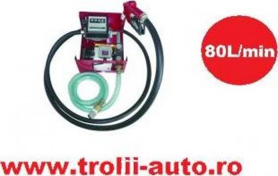 Pompa transfer combustibil motorina 80litri/minut de la Trolii-auto.ro