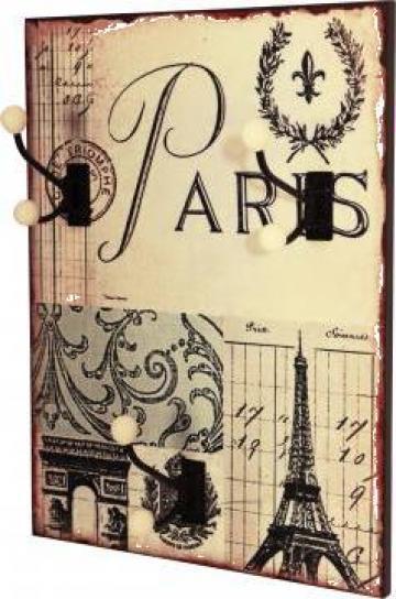 Cuier de perete Paris de la Decosphere.ro