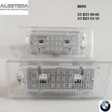 Lampa numar LED BMW X5 E53, X3 E83 de la Alesteda Srl